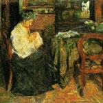 Madre che cuce 1925
