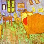 Camera da letto di Van Gogh ad Arles - 1889 - Olio su tela