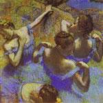 La Danza Blue - 1898/1899 - Pastello su carta