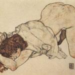 Fanciulla in ginocchio 1917