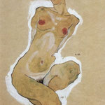 Nudo femminile - 1910