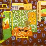 Interni - 1911/1912 - Guazzo su tela