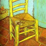 Vincent's Chair e la pipa - 1888 - Olio su tela