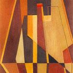 R.S.Z.2, 1970, olio su tela, cm 47 x 38.