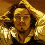 Uomo disperato (autoritratto) - 1844