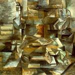 Georges Braque - Bottiglie e pesci