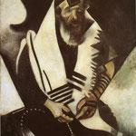 Preghiera dell'ebreo (Rabbino di Vitebsk) - 1914 - Olio su tela