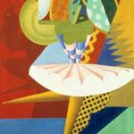 Rotazione di ballerina e pappagalli 1917
