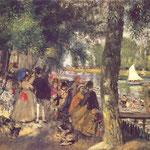 La Grenouilliere, 1869