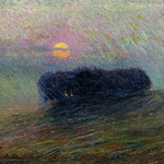 Paesaggio al tramonto 1906
