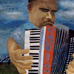 Blind accordion player
