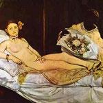 Edouard Manet - Olympia - 1863 - Olio su tela