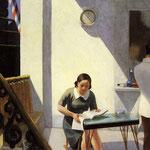 Edward Hopper - Il negozio di barbiere (1931)