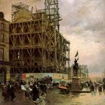 The Place des Pyramides, 1875
