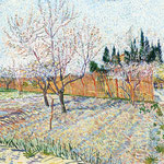 Orchard with Peach Trees in Blossom, 1888
