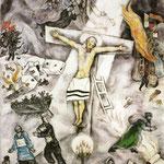 La crocifissione bianca - 1938 - Olio su tela
