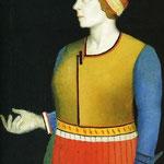 Kazimir Malevich - Ritratto della moglie (1933)