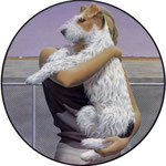 Woman and Terrier