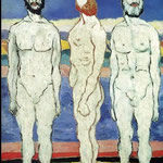 Kazimir Malevich - Bagnanti (1930)