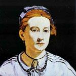Edouard Manet - Ritratto di Meurent Victorine - 1862 - Olio su tela
