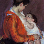Louise Nursing Her Child, 1898