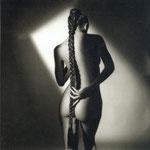 Derrière avec nattes, Paris 1985