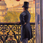 The Man on the Balcony, 1880