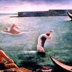 Carlo Carrà - Nutotatori (1932)
