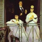 Edouard Manet - Il Balcone - 1868 - Olio su tela