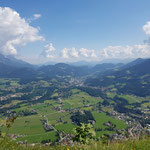 Blick vom Hausberg dem Grünstein auf Schönau