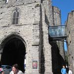 Le musée depuis St Peter's street