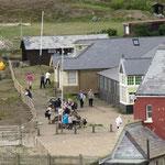 Vu du Birling Gap Café depuis le sentier.