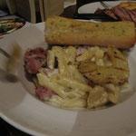 Bacon carbonara pasta