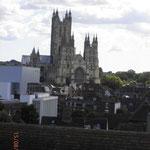 La vue sur la cathédrale depuis Westgate Towers