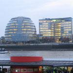 L'hôtel de ville - en face de la Tour de Londres