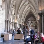 Westminster Abbey - cafétéria dans le cloitre