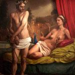 El valle de los locos, óleo sobre lino, 195 x 146 cm. Colección particular