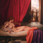 Dánae y la Máquina, óleo sobre lino,  195 x 180 cm. Colección particular.