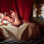 Diana, óleo sobre lino, 46 x 60 cm. Colección particular