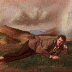 El sueño, óleo sobre lino, 27 x 35 cm.