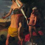 La Cittá Nuova, óleo sobre lino, 195 x 146 cm. Colección particular