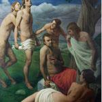 Las tentaciones de Apolo, óleo sobre lino, 230 x 195 cm. Colección particular