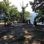 Ausblickpunkt: Ritterplatte am Battert