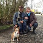 Julian mit Jim Knopf und mir (Julian Hart und Sabine Padberg)