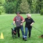 Paarlauf: Sofia und Heinz