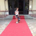 für Ingrid und Brigitte wurde sogar der rote Teppich ausgerollt ;-)