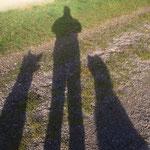 Schattenbilder (Sabine Padberg mit Nanuk und Ayana)