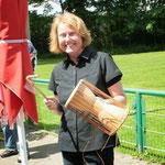 Die Drummer-Queen - Petra war für die musikalische Unterhaltung zuständig! ;-) Toll gemacht