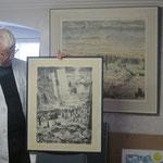Pater Eugen Bollin stellte sein Kunstschaffen und Arbeiten von Pater Karl Stadler und Bruder Xaver Ruckstuhl vor