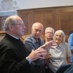 Pater Thomas Blättler präsentierte mittelalterliche Engelberger Handschriften